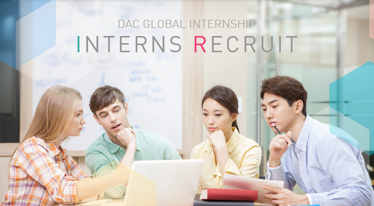 DAC global internship interns recruit